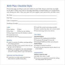 My Birth Plan Template by Birth Plan Template 20 Free Documents In Pdf Word