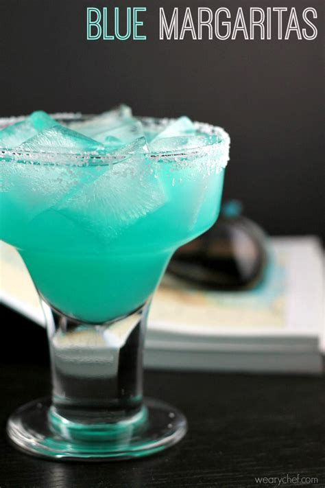 blue margarita blue margarita recipe the weary chef