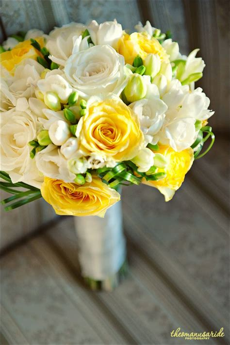 Wedding Bouquet Yellow Green by Yellow And Pink Wedding Flowers Www Imgkid The