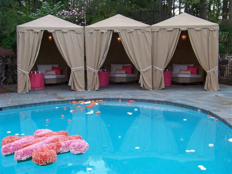 creative of pool wedding ideas 17 best ideas about pool