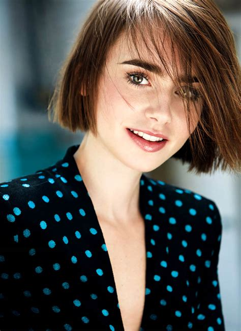 lily collins photoshoot  david roemer
