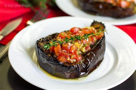 eggplant boats baked eggplant recipes