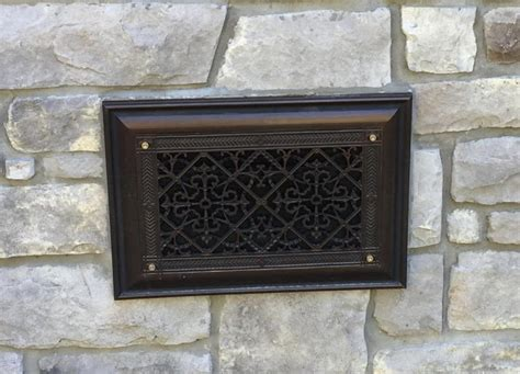 basement vent covers decorative foundation vents beaux arts classic products