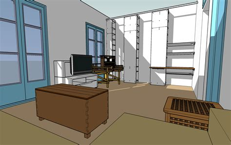 google room design using google sketchup to test room layouts catmacey s stuff