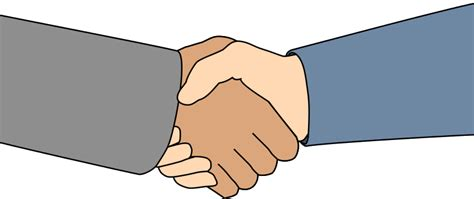Free Clipart Shaking free handshake clip