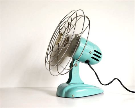 vintage fan art deco eskimo 081002 desk fan or hanging fan