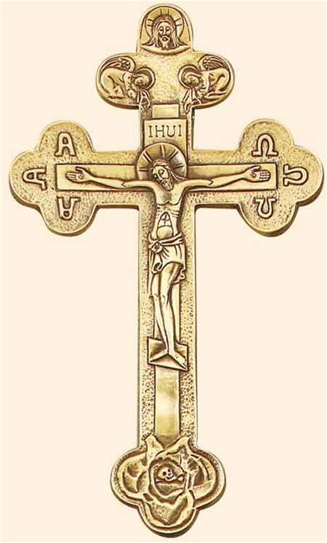 orthodox cross tattoo orthodox cross 25 pewter antique gold