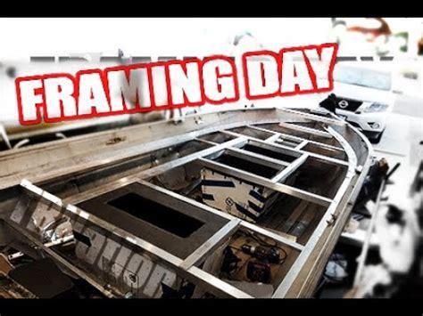 aluminum framing for jon boat deck non welded aluminum boat framing for tinnies small boats