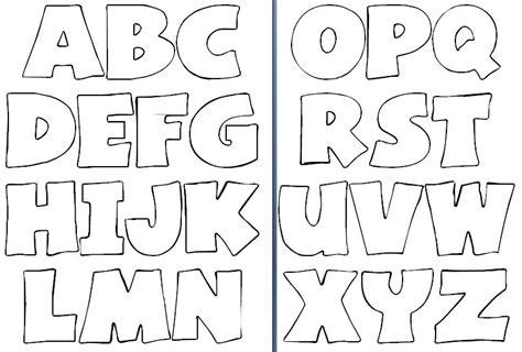 moldes de letras del abecedario para carteleras molde de letras para imprimir y recortar imagui diy