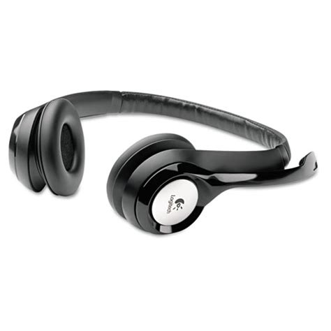 Logitech H390 Usb Headset Original log981000014 logitech 174 h390 usb headset w noise canceling microphone zuma