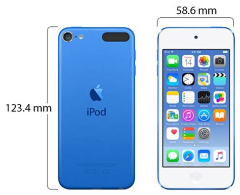 souq | apple ipod touch 6th generation 16gb, blue | uae