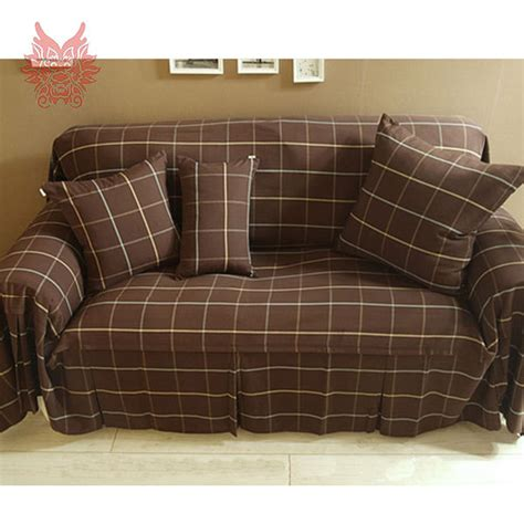 check fabric sofa coffee home textile 100 cotton canvas fabric with check