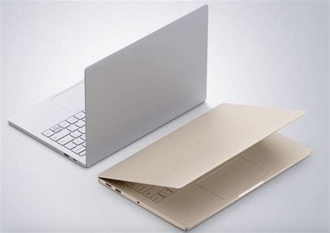 minimalist laptop xiaomi s new ultra minimalist laptop looks a lot like the