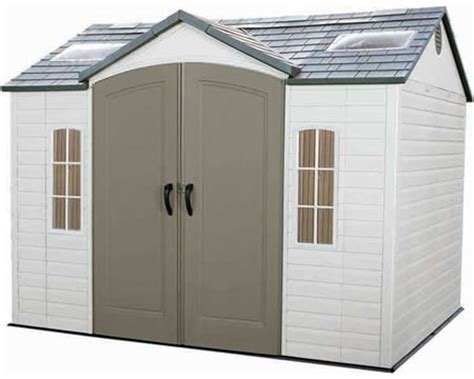 Plastic Shed Storage by Easy Building Shed And Garage Plastic Storage Shed Will