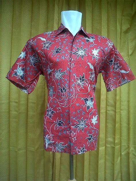 Daster Batik Lowo Rempel Merah kemeja batik kantor kemeja batik pekalongan murah