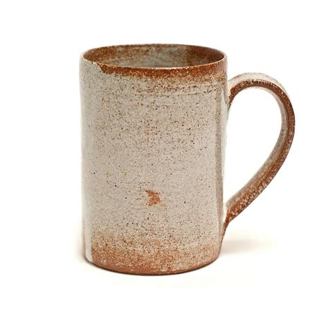 rustic mugs thrown tea mug by nom living notonthehighstreet