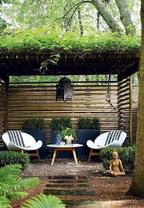 backyard seating ideas best 25 zen gardens ideas on