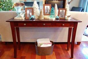decorate sofa table christmas decorating a sofa table ideas christmas decorating
