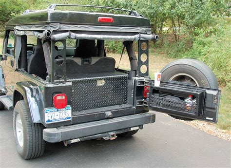jeep wrangler storage ideas 70 best jeep storage solutions images on jeep