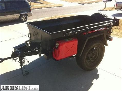 m416 trailer m416 military trailer customized for offroad use