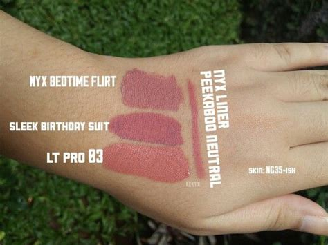 Lip Liner Lt Pro the 25 best nyx lip liner swatches ideas on