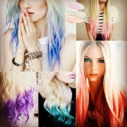 how to what hair color looks best on you 2014 dip dye hair colors vpfashion