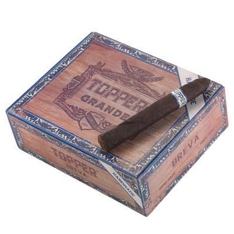 Cheap Handmade Cigars - topper original handmade breva cigars oscuro box of 30