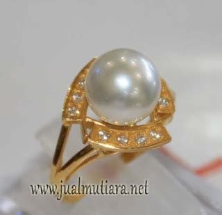 Ciincin Monel Mutiara Lombok 9 jual cincin mutiara laut kode cml053 cincin mutiara lombok asli