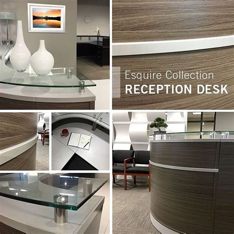 Esquire Glass Top Reception Desk 26 Best Images About Nbf Signature Series Esquire Collection On