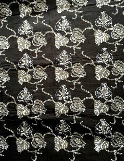 Kain Batik Cap Daun Etnic batik kebunpolo magelang motif daun suruh batik cap