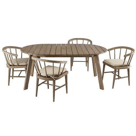 outdoor expandable dining table west elm