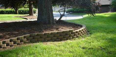 align blocks   curved retaining wall todays