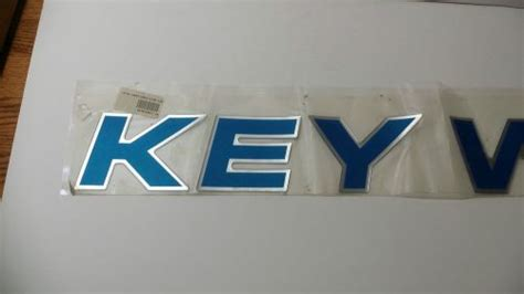 find marine key west boat decal quot key west quot blue color - Key West Boats Phone Number