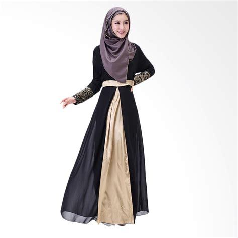 Gamis Longdress Terusan Panjang Muslim jual s clozette dress gamis lengan panjang md 13 baju muslim harga kualitas