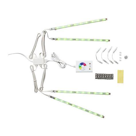 Dioder led 4 piece light strip set ikea