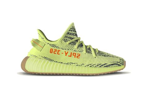 Adidas Yeezy Boost 350 V2 Original Sneakers adidas originals x yeezy boost 350 v2 quot semi frozen yellow quot release date revealed the source