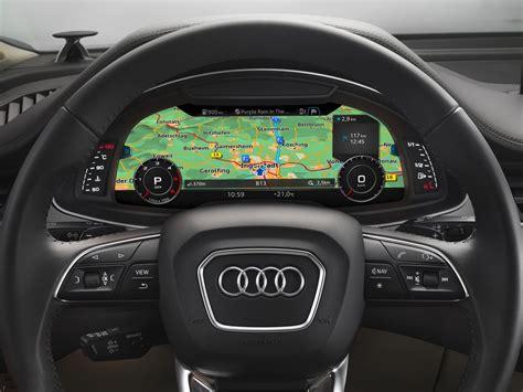 audi q7 interior pics 2016 audi q7 interior steering official pics 1 carblogindia