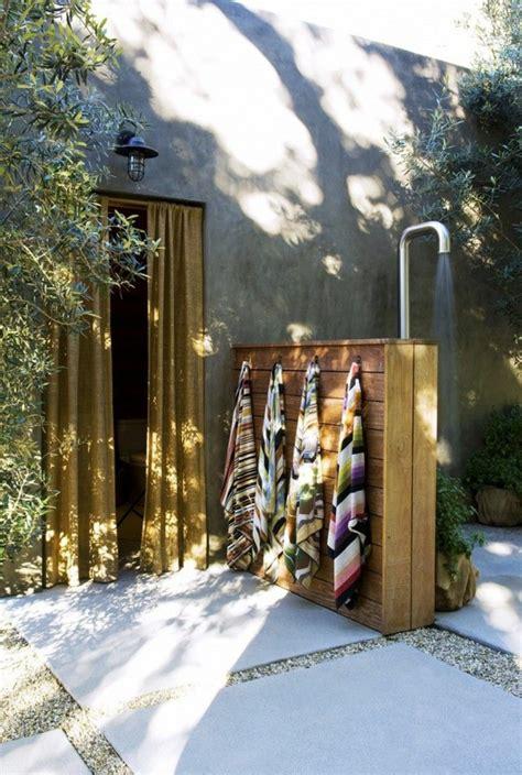 abwasser im garten fishzero outdoor dusche warmwasser verschiedene