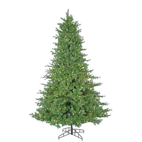 micro light christmas tree sterling 7 5 ft pre lit pacific pine artificial christmas
