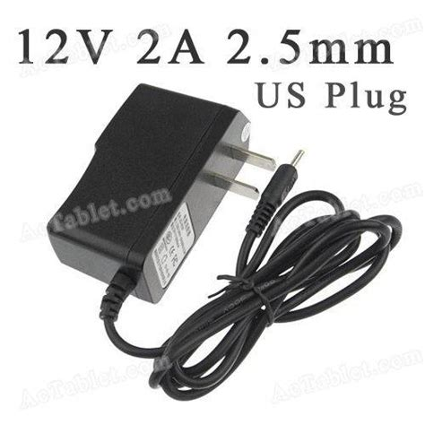 android tablet charger universal 12v 2a 2 5mm us power supply adapter charger for android tablet pc mid