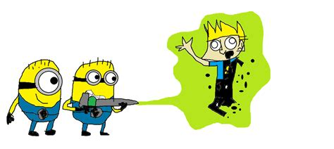 Minions vs Johnny Test. by mippytrippy on DeviantArt