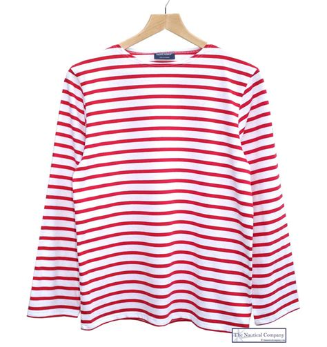 white shirt with red stripes artee shirt