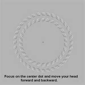 focus on the optical illusions