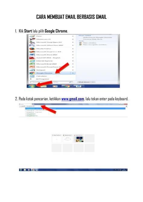 langkah2 membuat email google cara membuat email berbasis gmail