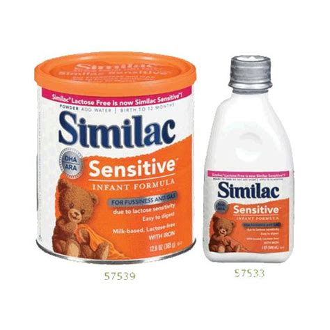 difference between similac sensitive and total comfort abbott similac sensitive infant formula with iron