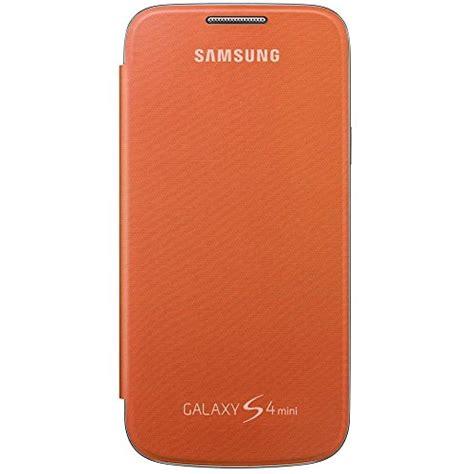 samsung galaxy s4 mini quality samsung galaxy s4 mini flip cover orange buy usa quality