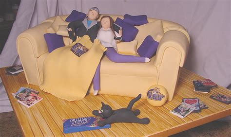 l over couch sofa cake