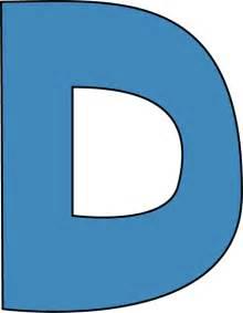 d color blue alphabet letter d clip blue alphabet letter d image