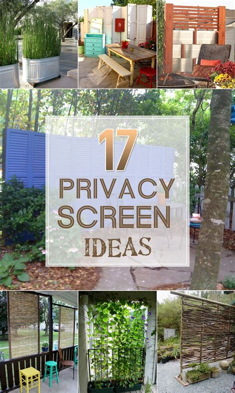 creating an outdoor patio 17 privacy screen ideas that ll keep your neighbors from