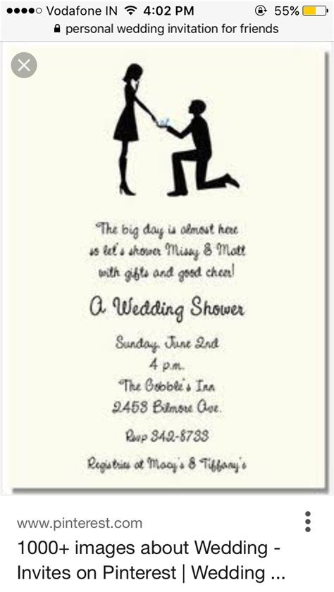 Pin by asha jain on Card wordings   Couples wedding shower